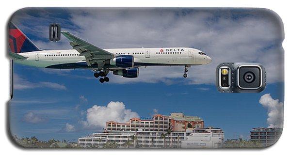Delta Air Lines Landing At St. Maarten Galaxy S5 Case