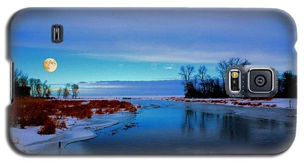 Delta Beach Channel Galaxy S5 Case