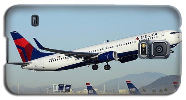 Delta Boeing 737-932 N822dn Phoenix Sky Harbor December 24 2014  Galaxy S5 Case