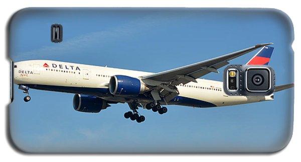Delta Boeing 777-232lr N701dn Klax January 19 2015 Galaxy S5 Case