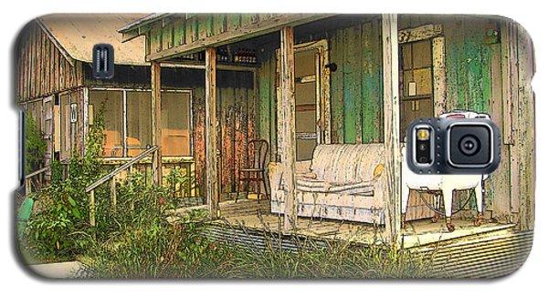 Delta Sharecropper Cabin - All The Conveniences Galaxy S5 Case by Rebecca Korpita