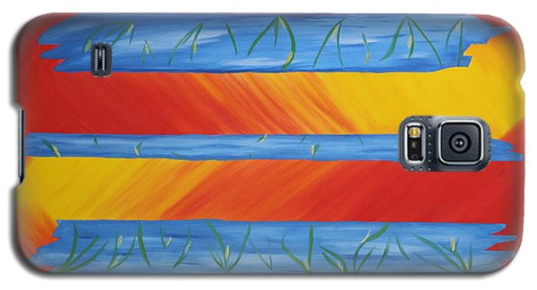 Delusions Of Fire Galaxy S5 Case
