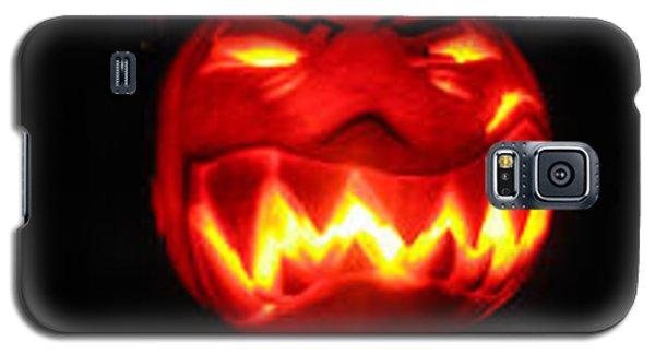 Demented Mister Ullman Pumpkin Galaxy S5 Case