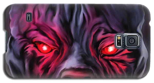Demon Pit Bull Galaxy S5 Case by Michael Spano