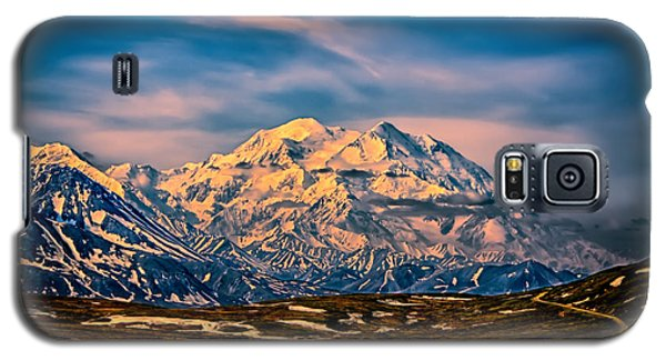 Denali At Sunset Galaxy S5 Case