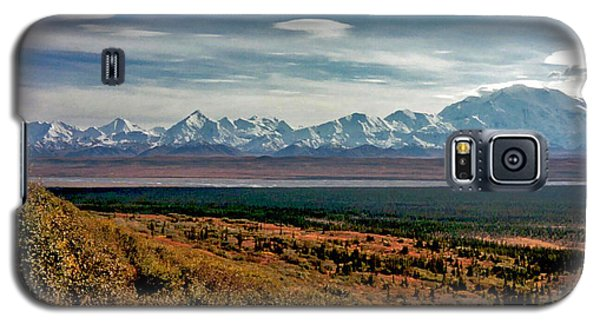 Galaxy S5 Case featuring the photograph Denali Colors by Jeremy Rhoades
