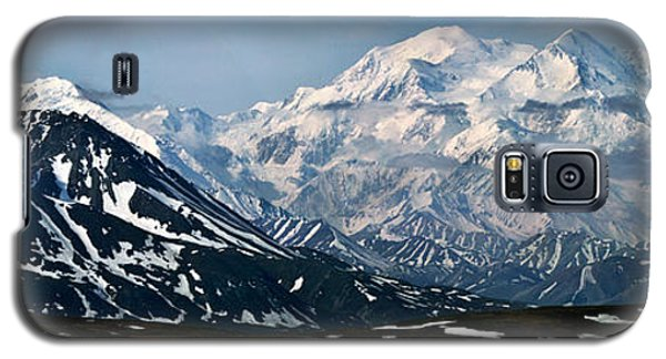 Galaxy S5 Case featuring the photograph Denali National Park Panorama by John Haldane