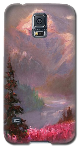 Denali Summer - Alaskan Mountains In Summer Galaxy S5 Case