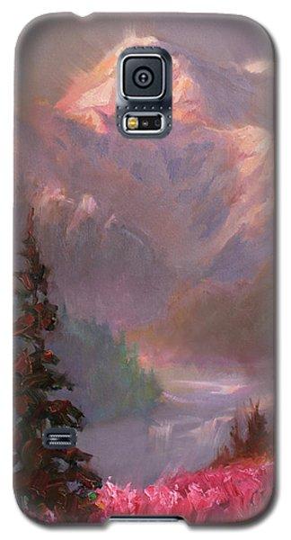 Denali Summer - Alaskan Mountains In Summer Galaxy S5 Case by Karen Whitworth