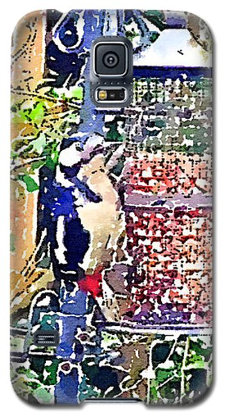 Dendrocopos Major 'great Spotted Woodpecker' Galaxy S5 Case