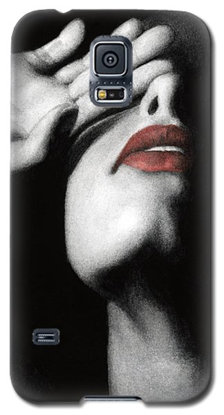 Galaxy S5 Case featuring the painting Denial by Pat Erickson