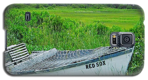 Galaxy S5 Case featuring the photograph Dennis Cape Cod And The Red Sox by Lizi Beard-Ward