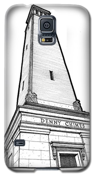 Galaxy S5 Case featuring the drawing Denny Chimes by Calvin Durham