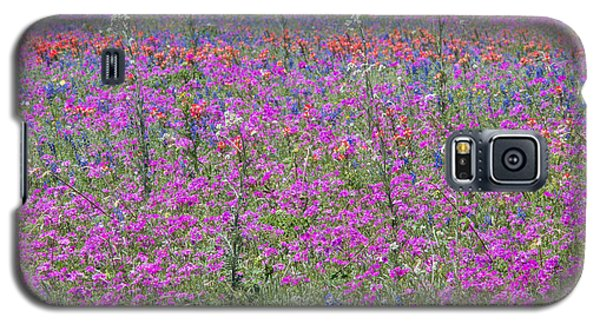 Dense Phlox And Other Wildflowers Galaxy S5 Case
