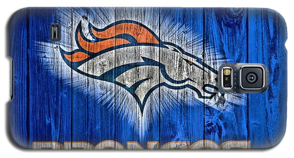Denver Broncos Barn Door Galaxy S5 Case