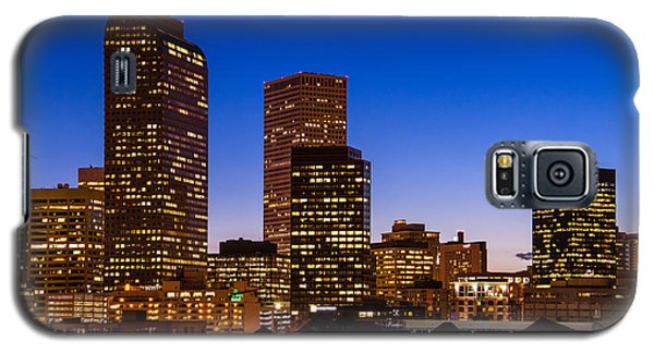 Denver Colorado Skyline At Blue Hour Mar 2013 Galaxy S5 Case