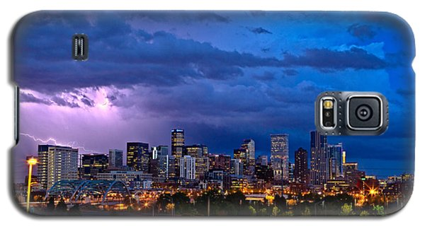 Denver Skyline Galaxy S5 Case by John K Sampson