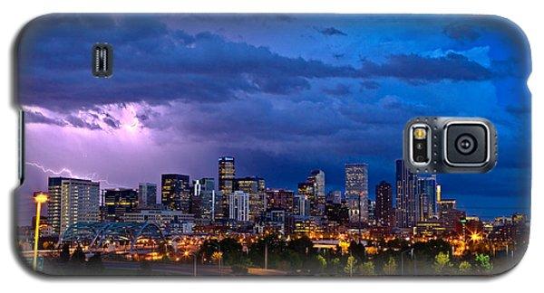 Landscape Galaxy S5 Case - Denver Skyline by John K Sampson