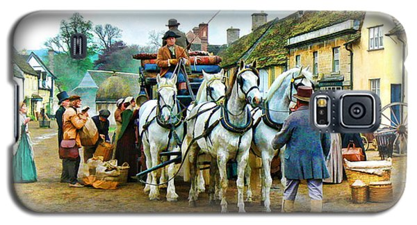 Galaxy S5 Case featuring the photograph Departing Cranford by Paul Gulliver