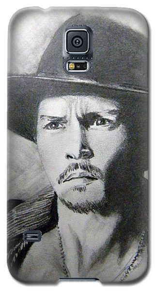 Galaxy S5 Case featuring the drawing Depp by Lori Ippolito