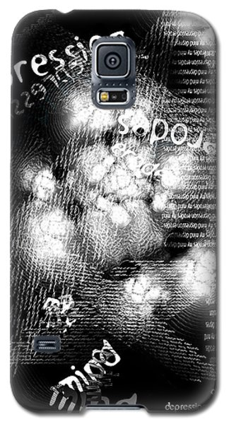 Depression Erodes My Mind Galaxy S5 Case