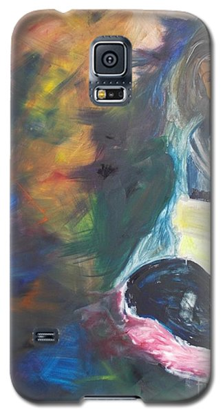 Galaxy S5 Case featuring the painting Depression by PainterArtist FIN