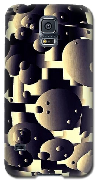 Galaxy S5 Case featuring the digital art Depth Of Thought by Susan Maxwell Schmidt