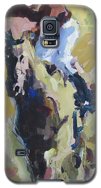 Galaxy S5 Case featuring the painting Derby Dwellers by Robert Joyner
