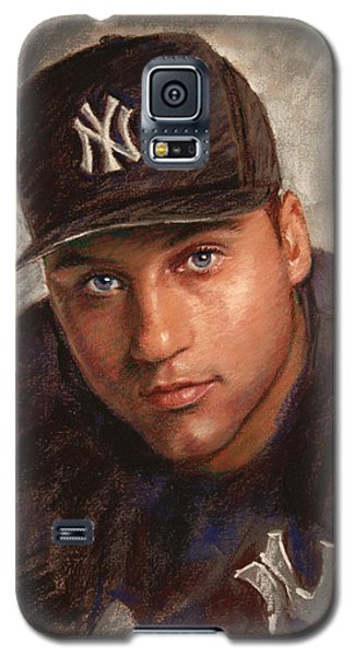 Derek Jeter Galaxy S5 Case by Viola El