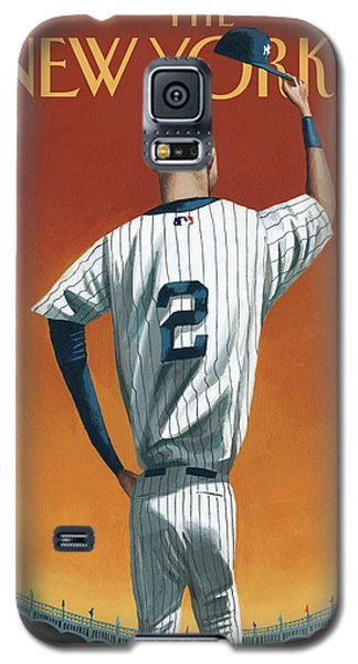 Derek Jeter Bows Galaxy S5 Case by Mark Ulrikse