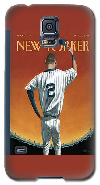 Derek Jeter Bows Galaxy S5 Case