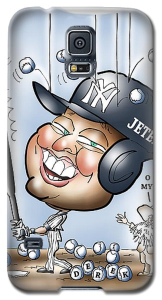 Derek Jeter Galaxy S5 Case