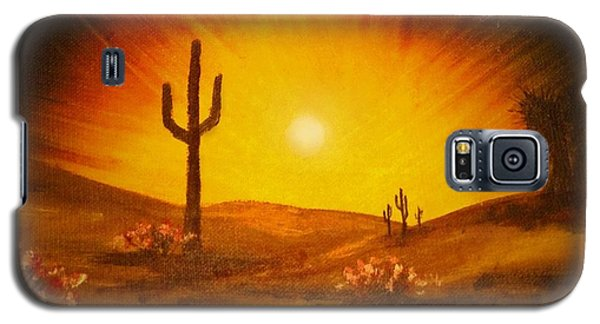 Desert Aglow Galaxy S5 Case by Becky Lupe