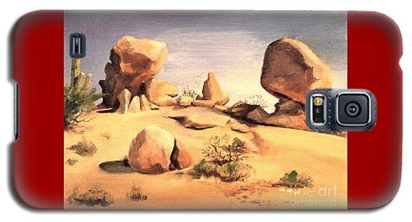 Desert Balanced Rock Galaxy S5 Case