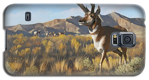 Desert Buck Galaxy S5 Case