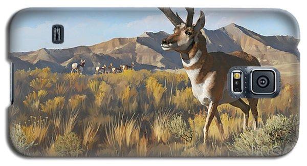 Desert Buck Galaxy S5 Case
