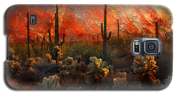 Desert Burn Galaxy S5 Case