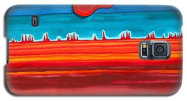 Desert Cities Original Painting Sold Galaxy S5 Case