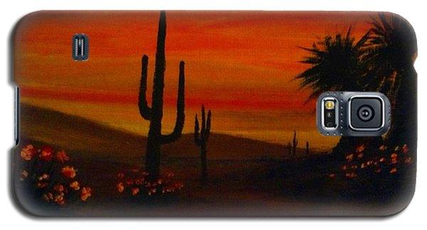 Desert Dance Galaxy S5 Case by Becky Lupe
