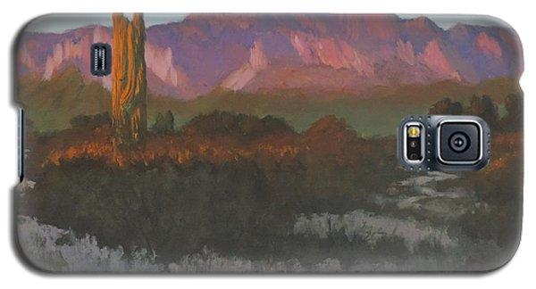Desert Sunset Glow Galaxy S5 Case