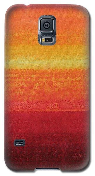 Desert Horizon Original Painting Galaxy S5 Case