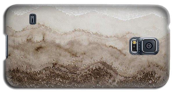 Desert Mountain Mist Original Painting Galaxy S5 Case