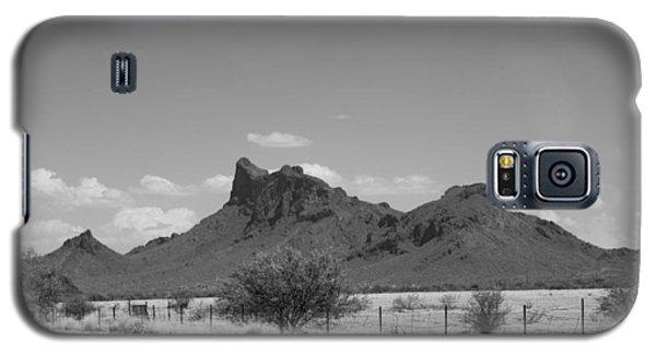 Desert Mountains Black And White Galaxy S5 Case