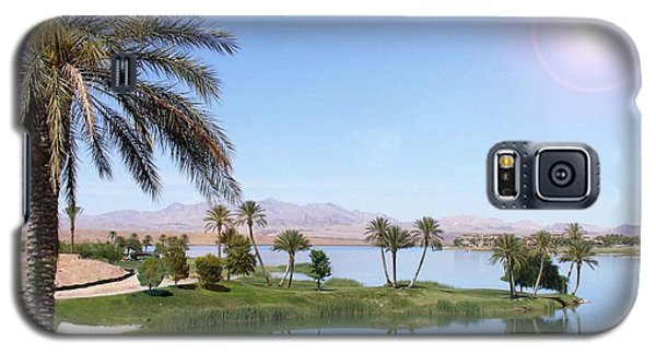 Desert Oasis Galaxy S5 Case by Stephen Flint