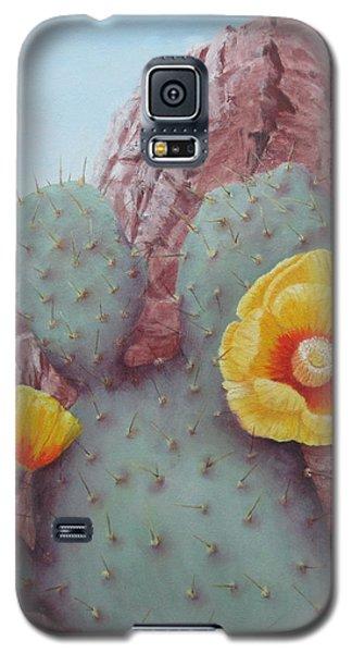 Desert Rose Galaxy S5 Case