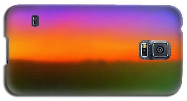 Desert Sun Abstract Galaxy S5 Case by Deborah  Crew-Johnson