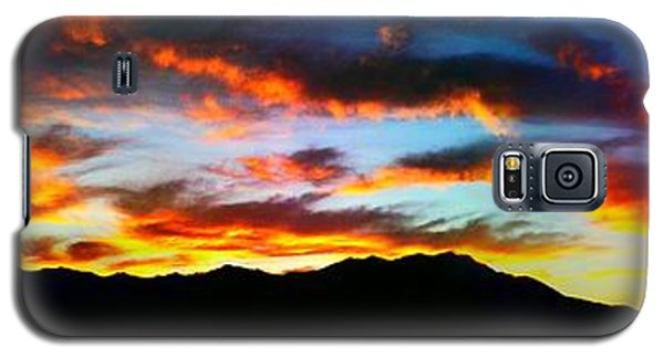 Galaxy S5 Case featuring the photograph Desert Sunset 15 by Chris Tarpening