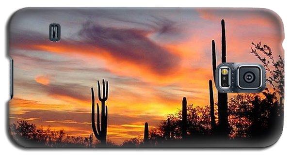 Desert Sunset Galaxy S5 Case by Joseph Baril