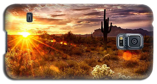 Desert Sunshine  Galaxy S5 Case