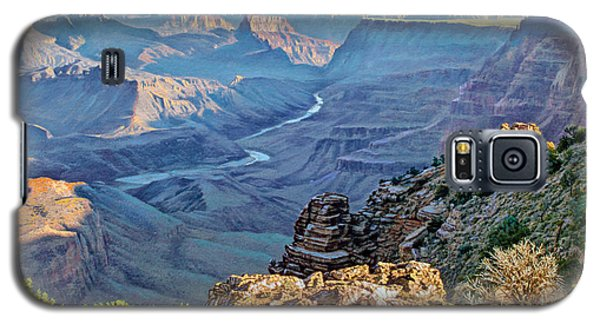 Grand Canyon Galaxy S5 Case - Desert View-morning by Paul Krapf